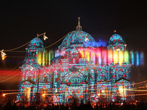 Фестиваль света в Санкт-Петербурге собрал 400 тысяч зрителей