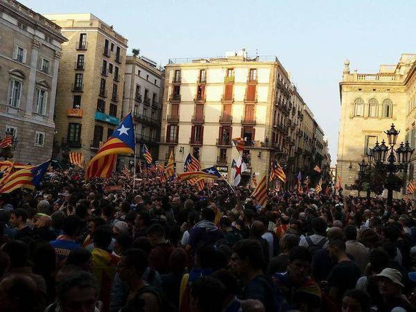 Каталония празднует независимость