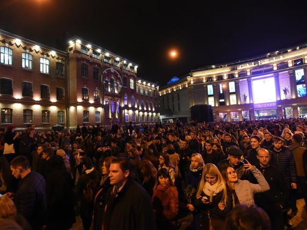 Больше сотни человек задержаны на акции Навального в Петербурге