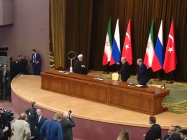 Стул Эрдогана не устоял перед Путиным