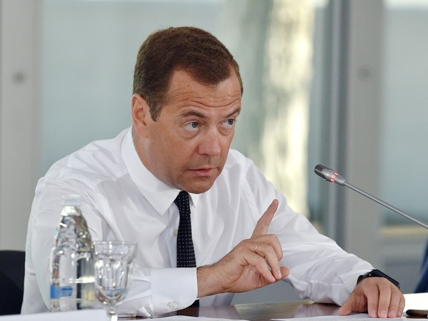 Разговор с Дмитрием Медведевым