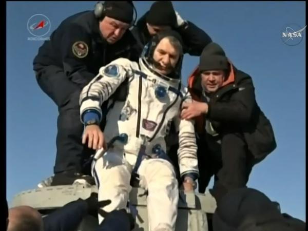 Экипаж экспедиции МКС-52/53 благополучно вернулся на Землю