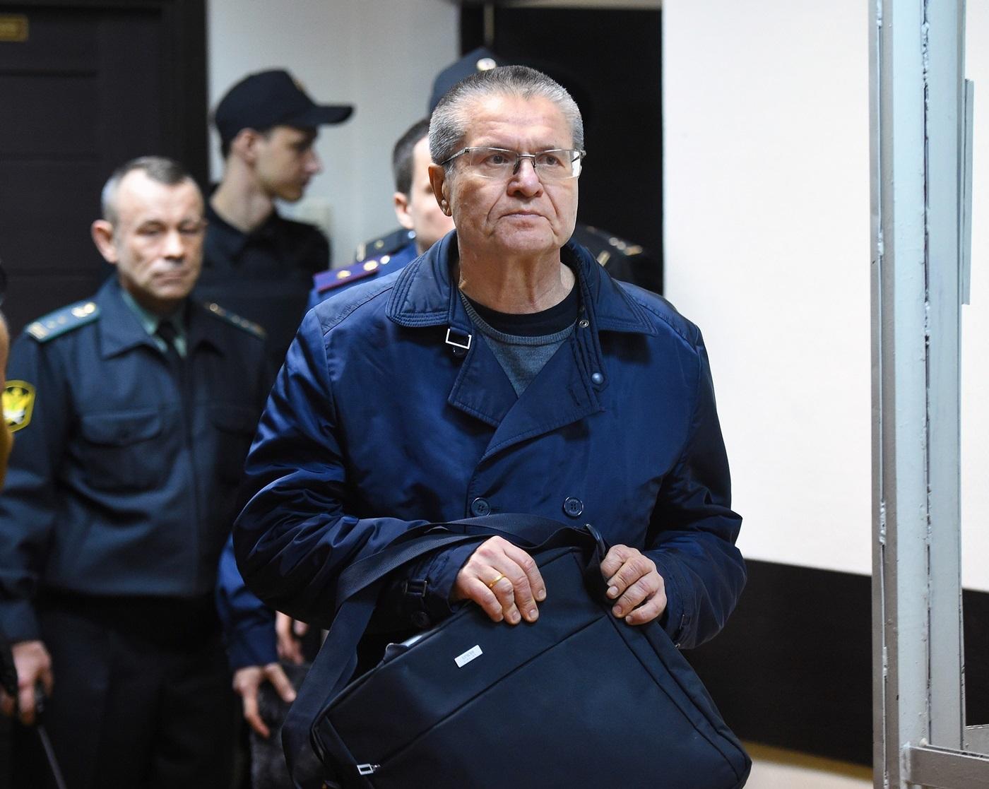 Алексей Улюкаев в суде, 15 декабря 2017 года