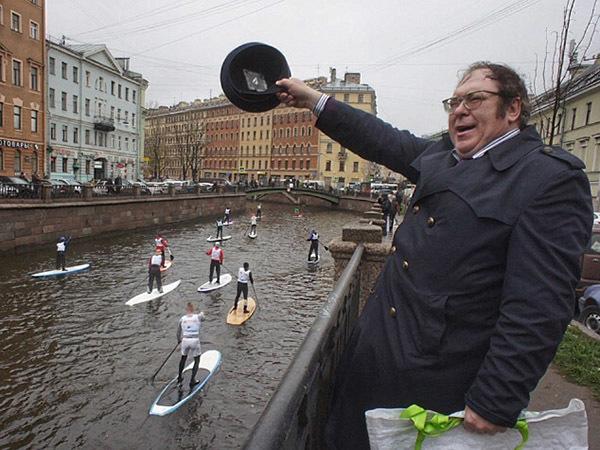 Полтавченко сплавил байдарки из центра