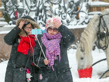 Туристы отложили спрос на Петербург