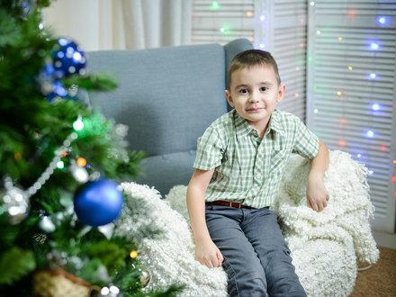 У Деда Мороза Эмиль попросил здоровья