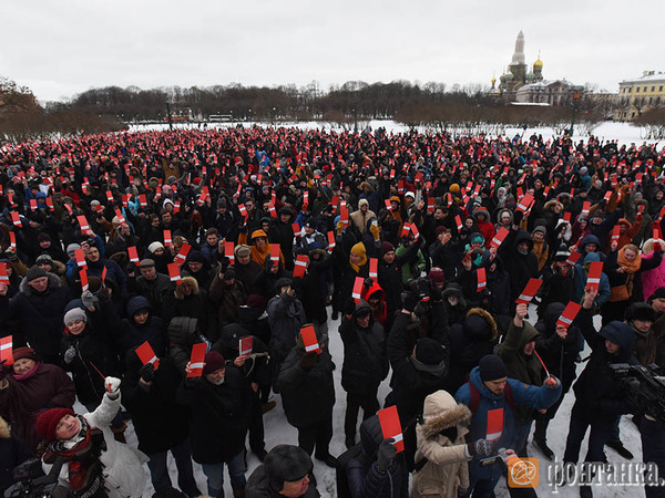 Петербург выдвинул Навального в кандидаты 1797 голосами