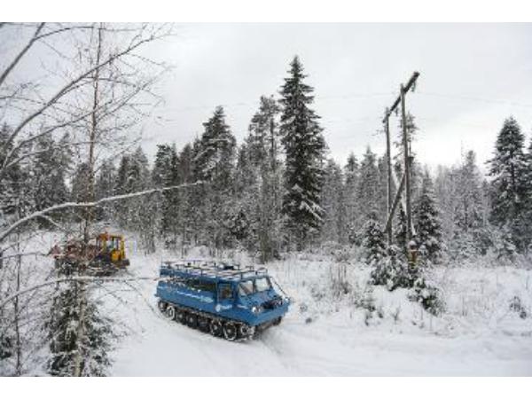 «Карелэнерго» круглосуточно восстанавливает электроснабжение Карелии