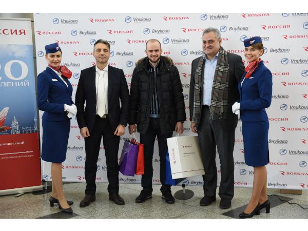 Авиакомпания «Россия» перевезла 11-миллионного пассажира