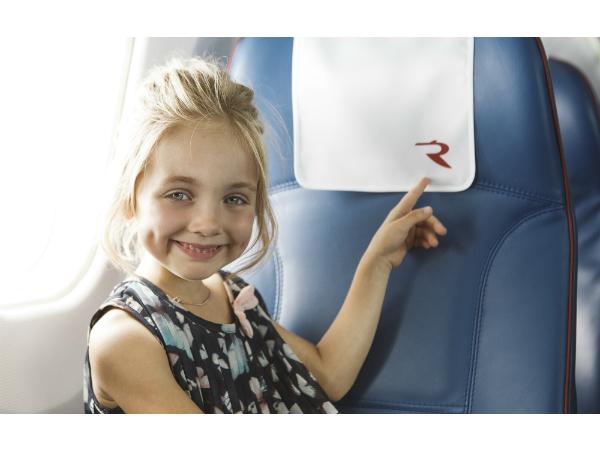 Авиакомпания «Россия» поздравляет пассажиров с новогодними праздниками!