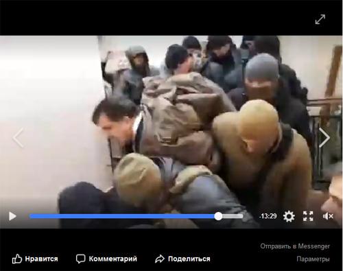 кадр трансляции/Facebook.com/Ivan Slobodianyk