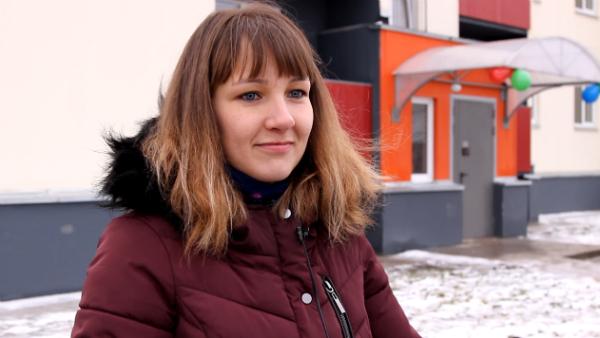 Марина Виноградова, жительница поселка Эссойла / автор фото Ксения Тихонова