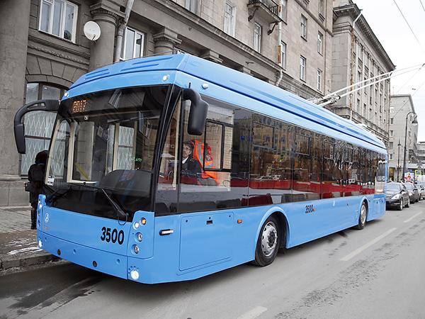 «Безрогие» троллейбусы уехали на север