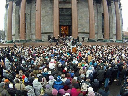 С миру по прихожанину - Церкви Исаакий