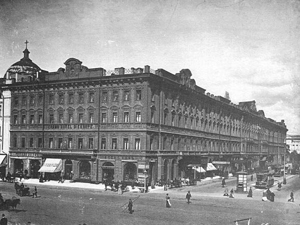 """История """"Европы"""": Отель, как символ капитализма в американском стиле"""