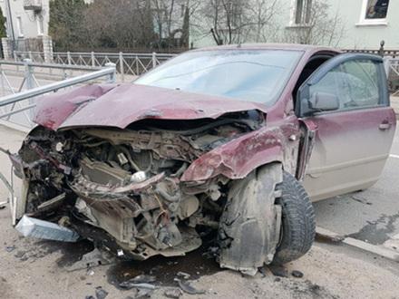 ДТП с тремя машинами случилось на Дибуновской во время блэкаута