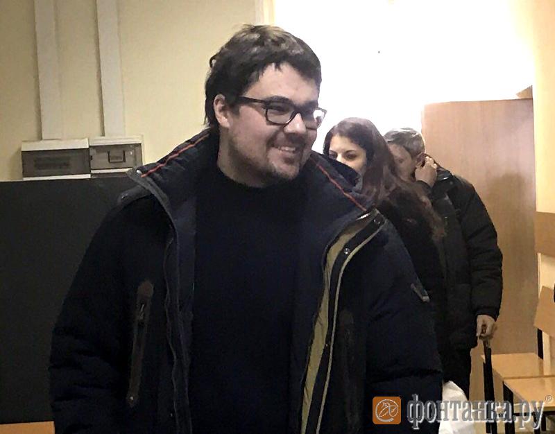 Обвиняемый по делу о ДТП Дмитрий Изотов