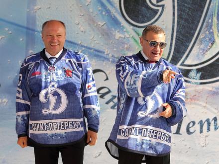 «Динамо СПб» поменяло Ротенберга на «Газпром»
