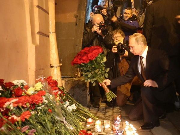 Евгений Вышенков: Путин на месте трагедии – естественный поступок