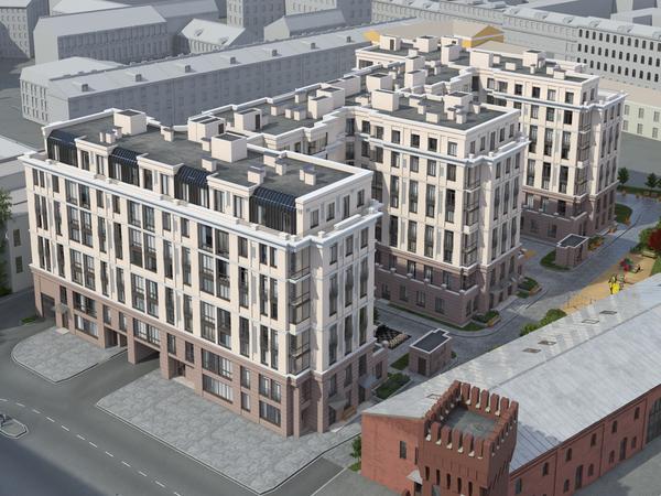 Завершен сложный этап работ на строительстве «Дома у Невского»
