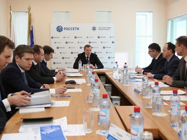Глава «Россетей» поблагодарил МРСК Северо-Запада за работу по надежному электроснабжению международного арктического форума