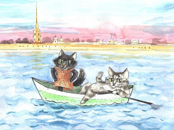 Открытки в помощь кошкам