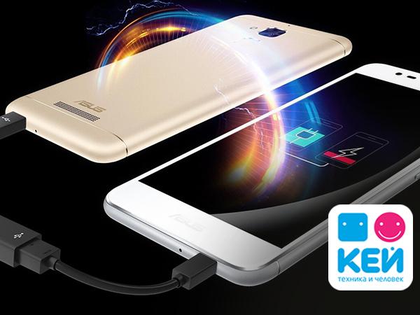 КЕЙ сравнил популярные смартфоны ASUS ZenFone 3 Max и ZenFone Go