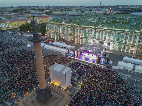 Организаторы: «Классику на Дворцовой» слушали 450 тысяч человек