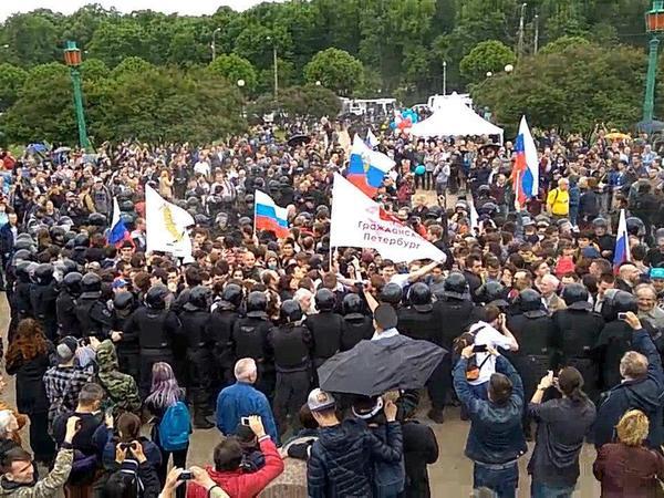 Навальное правосудие Петербурга