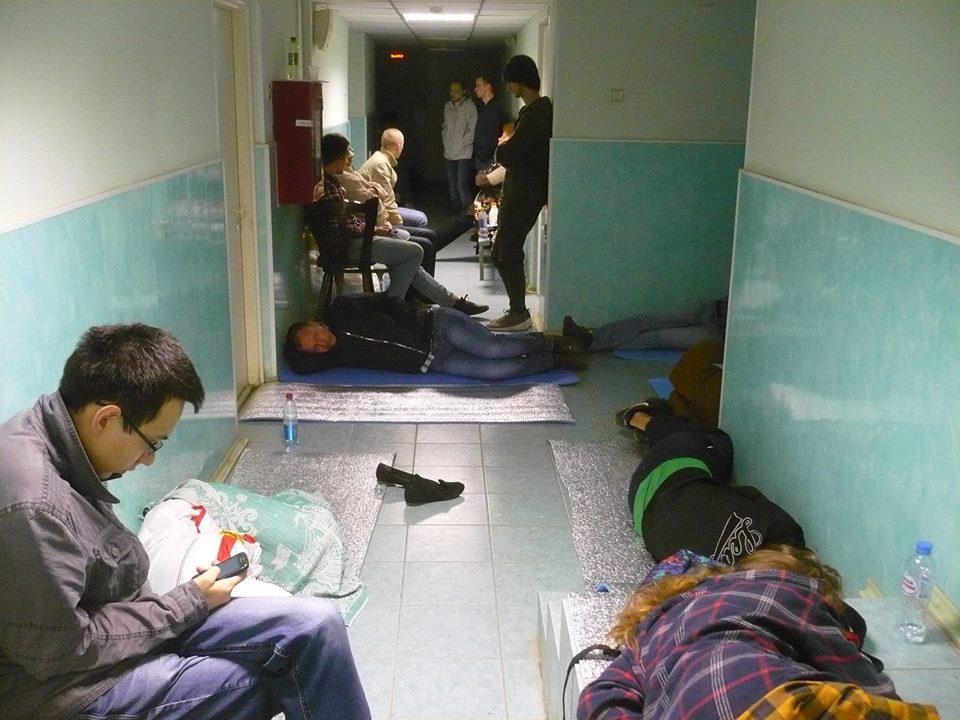 Из официальной группы ВК: Помощь задержанным в Питере
