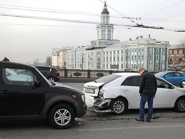 Где в Петербурге попадают в ДТП