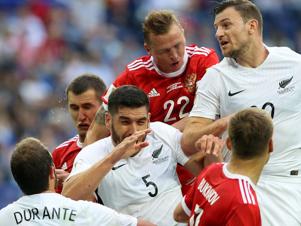 Сборная России стартовала на Кубке конфедераций с победы над Новой Зеландией