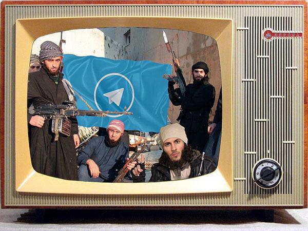 Телевизор показал, как пользователи Telegram стали террористами