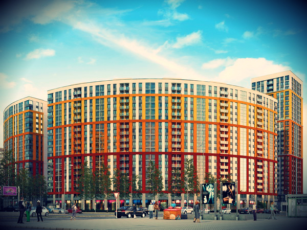 Где в Приморском районе строится квартал для самых продвинутых?