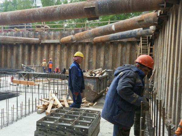 В MASTER Серебристый бульвар 19 завершаются подземные монолитные работы