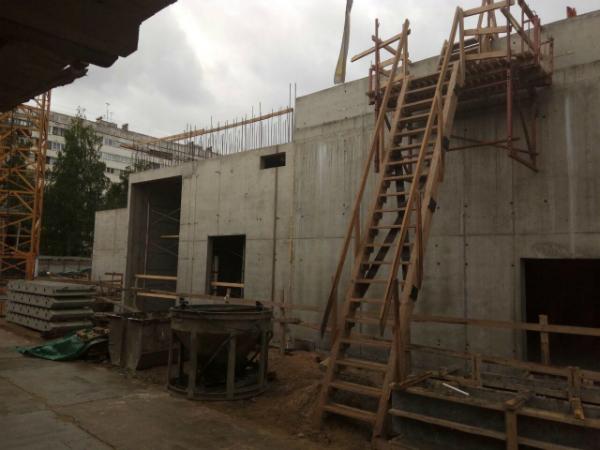 Строительство типовых этажей MASTER Серебристый бульвар 19 начнется в августе