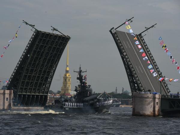Что известно о кораблях военно-морского парада в Петербурге