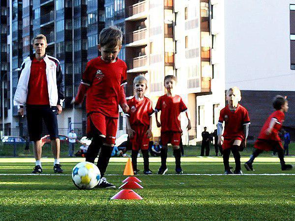 Лига юных  - в Мурино появился свой футбольный клуб