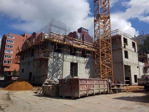 «MASTER Девелопмент» строит первый жилой этаж в бизнес-классе