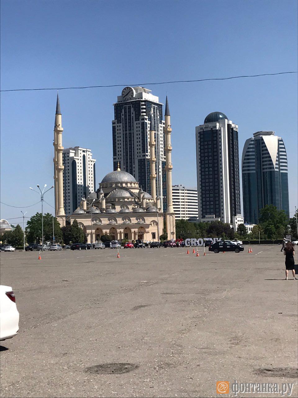 """Мечеть """"Сердце Чечни"""" и Грозный-Сити"""