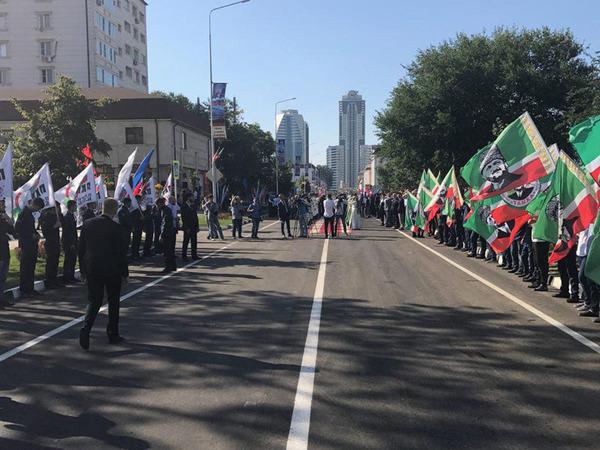 В Грозном появилась Санкт-Петербургская улица