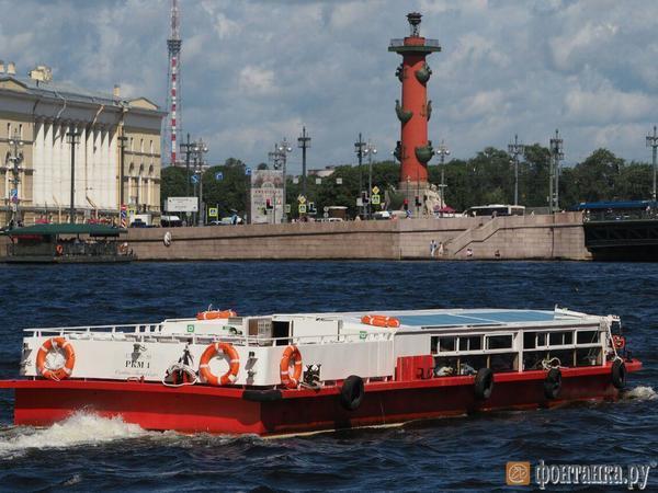 На Неву набросили «Российско-китайский мост»