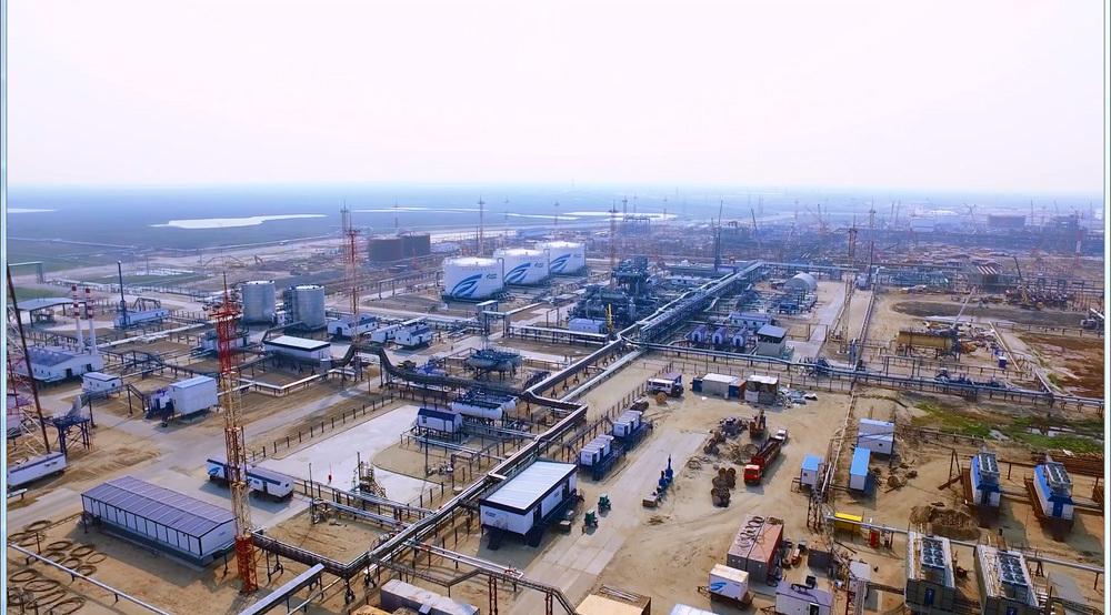 База нефтяного промысла в районе с. Новый Порт (Фото: кадр из видео/