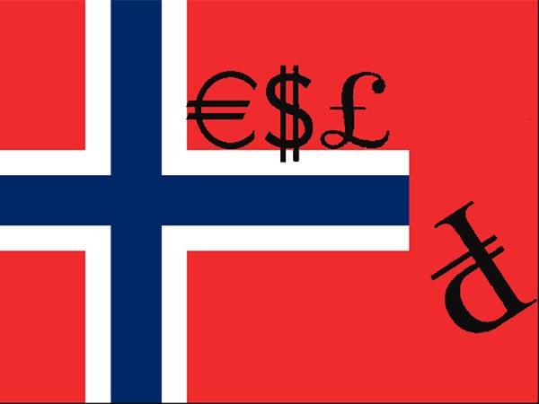 Норвегия отказывается от рублей