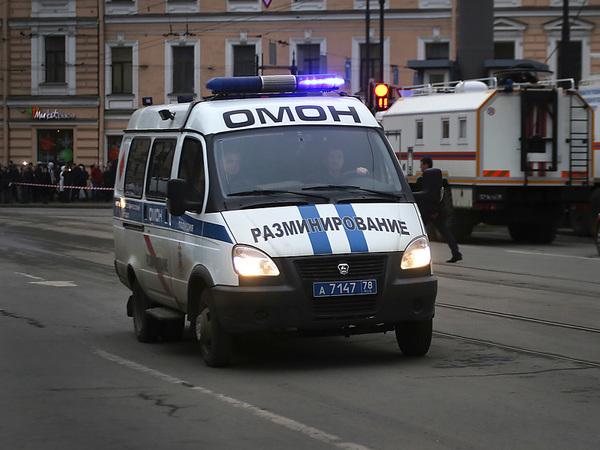 Онлайн-карта минирований в Петербурге