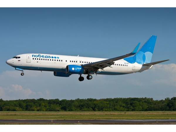 «Победа» перевезла 3 000 000 пассажиров с начала 2017 года
