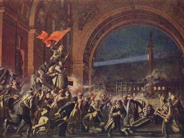 Революционеры ждут разрешения на штурм Зимнего