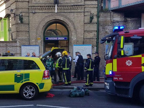 Взрыв в метро Лондона, есть пострадавшие