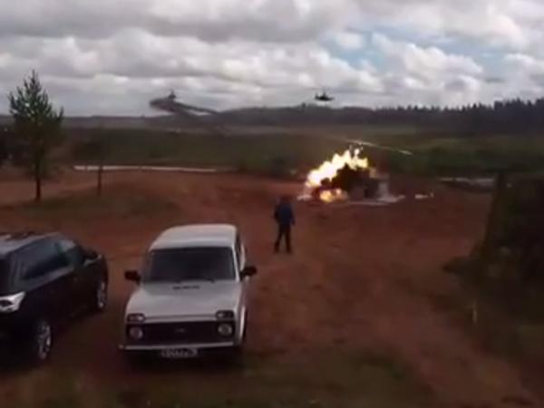 На учениях «Запад-2017» под Лугой вертолёт выстрелил не по цели: информация о пострадавших уточняется