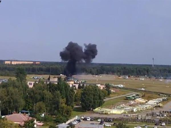 На праздновании 70-летия Ан-2 разбился самолет, погибли два человека